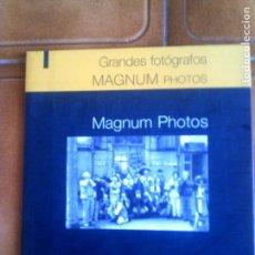 Cámara de fotos: CATALOGO GRANDES FOTOGRAFOS MAGNUM PHOTOS DE SALVAT. Lote 134023258
