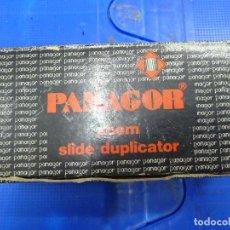Cámara de fotos: COPIADOR DIAPOSITIVAS PANAGOR ZOOM SLIDE DUPLICATOR. Lote 134542126