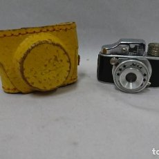 Cámara de fotos: MÍNI CÁMARA DE FOTOS HIT CON FUNDA DE CUERO. Lote 134755022