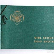 Cámara de fotos: ALBUM PARA FOTOS - GIRL SCOUTS - USA. Lote 134808750