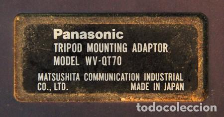 Cámara de fotos: Adaptador a trípode para cámara profesional PANASONIC Tripod Mounting Adaptor WV-QT70 - Foto 2 - 134356370