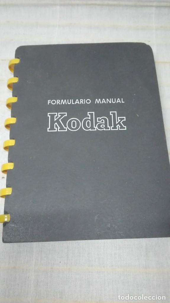 ANTIGUO MANUAL KODAK (Cámaras Fotográficas - Catálogos, Manuales y Publicidad)