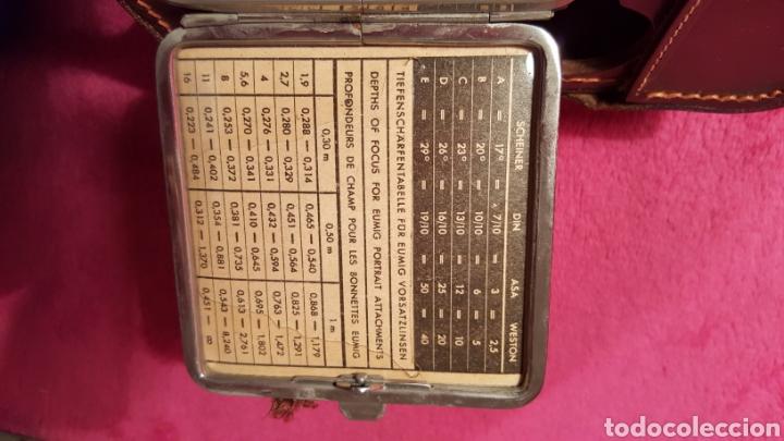 Cámara de fotos: CÁMARA TOMAVISTAS EUMIG C3 AÑOS 50 - Foto 25 - 135364978