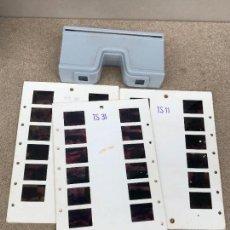Appareil photos: VISOR ESTEREOSCOPICO 3D - 3 LAMINAS. Lote 136003590