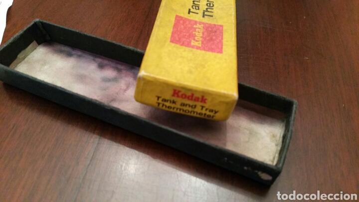 Cámara de fotos: Antiguo Termómetro Kodak para Laboratorio fotográfico. Tank and Tray Termometer. - Foto 2 - 136123660