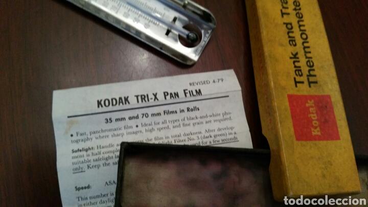 Cámara de fotos: Antiguo Termómetro Kodak para Laboratorio fotográfico. Tank and Tray Termometer. - Foto 6 - 136123660