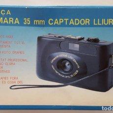 Cámara de fotos: CAMARA FOTOS ANALOGICA DEL BARÇA NUEVA EN SU CAJA. Lote 136524554