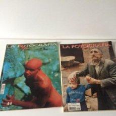 Cámara de fotos: LA FOTOGRAFIA LOTE 2 REVISTAS 1993 (Nº 0040) Y 1994 (Nº 0044) . Lote 136713410