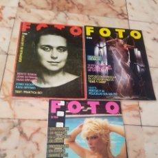 Cámara de fotos: LOTE DE 3 REVISTAA FOTO PROFESIONAL NÚMEROS 1 - 2 Y 3. Lote 137129226