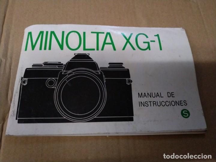 CATÁLOGO MANUAL INSTRUCCIONES MINOLTA XG-1 53 PÁGINA (Cámaras Fotográficas - Catálogos, Manuales y Publicidad)