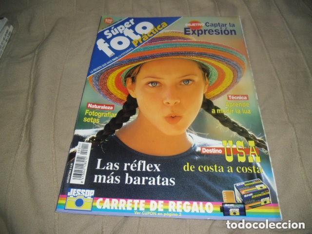 SUPER FOTO PRACTICA Nº11 DICIEMBRE 1996 (Cámaras Fotográficas - Catálogos, Manuales y Publicidad)