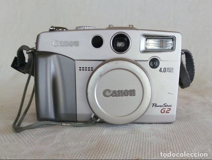Cámara de fotos: CÁMARA DIGITAL CANON POWER SHOT G2 4.0 MEGA PIXELS - Foto 2 - 138648130