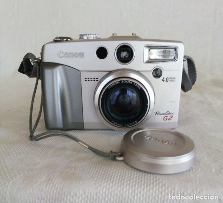 Cámara de fotos: CÁMARA DIGITAL CANON POWER SHOT G2 4.0 MEGA PIXELS - Foto 3 - 138648130