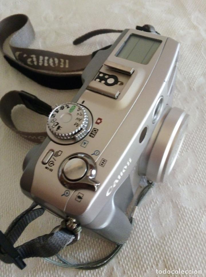 Cámara de fotos: CÁMARA DIGITAL CANON POWER SHOT G2 4.0 MEGA PIXELS - Foto 4 - 138648130
