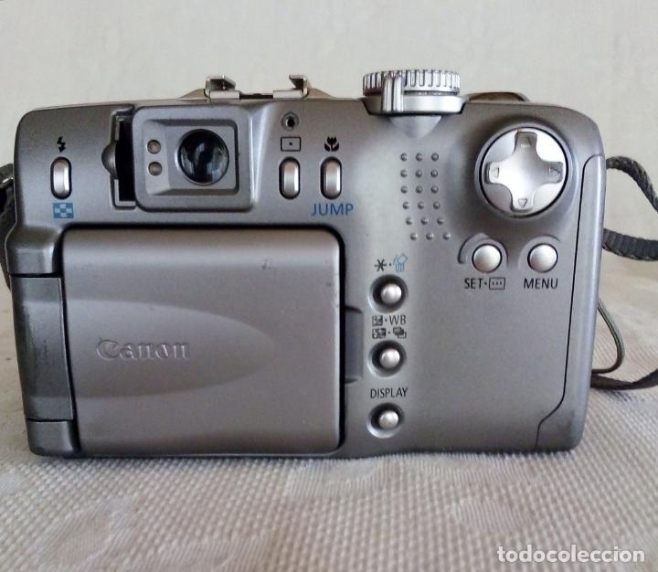 Cámara de fotos: CÁMARA DIGITAL CANON POWER SHOT G2 4.0 MEGA PIXELS - Foto 9 - 138648130