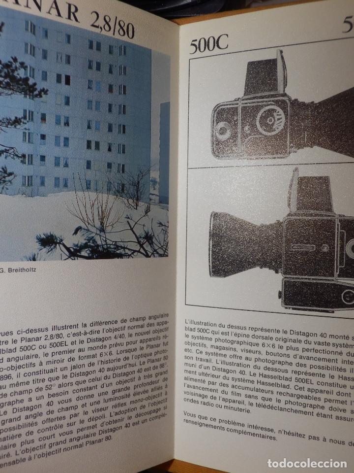 Cámara de fotos: Catálogp cámara fotos - Hasselblad - Distagon 4/40 - Cuadriptico - Francés - 21 cm. x 10,5 cm - Foto 2 - 138899350