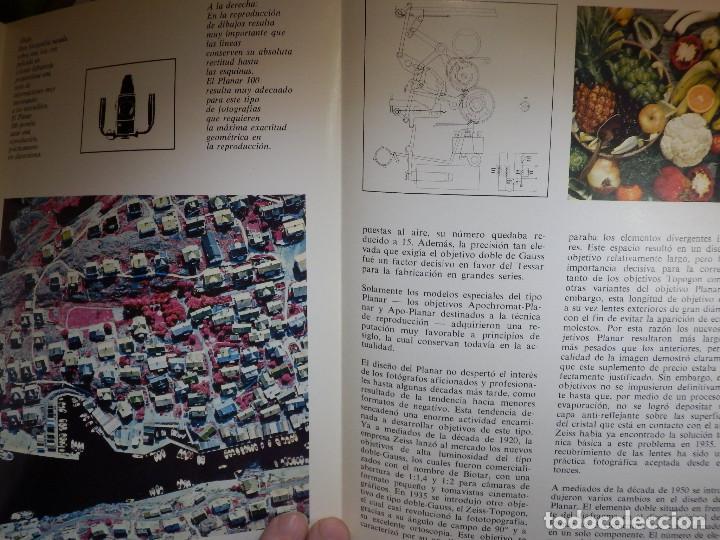 Cámara de fotos: Catálogp cámara fotos - Hasselblad Planar 1:3,5/100mm. Políptico 5 pag. 21 x 15 cm - 70´s Español - Foto 4 - 138900190