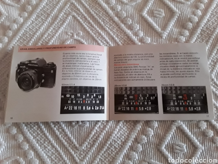 Cámara de fotos: Manual instrucciones Pentax A, 1983 - Foto 3 - 138989824