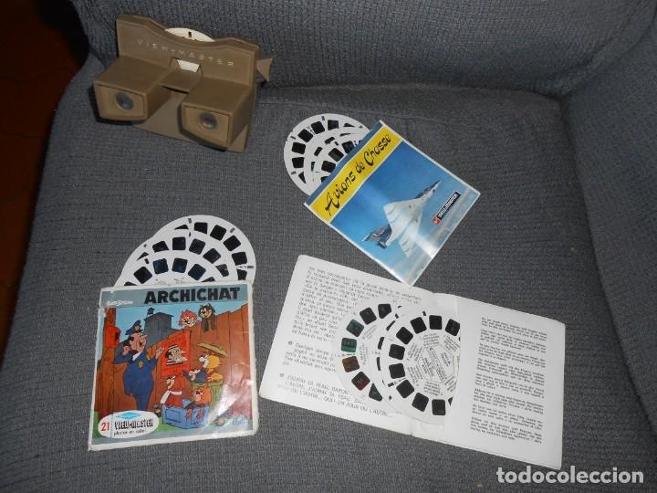 Cámara de fotos: Visor VIEW MASTER - -10 Discos -Made in Belgium - Foto 2 - 139873986
