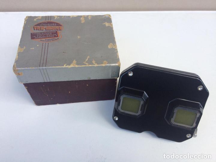 Cámara de fotos: VISOR SAWYER'S VIEW MASTER en caja original con discos - visor estereoscopico - Foto 4 - 139878546