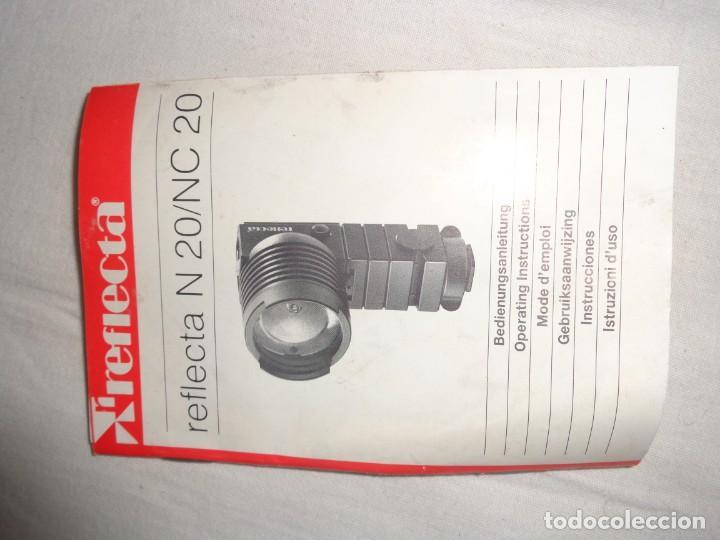 Cámara de fotos: Visor Reflecta NC 20 Video Video-light ideal para sonido en vivo. Con Caja Original - Foto 8 - 140001618