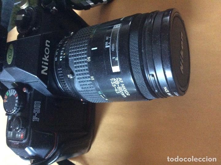 NIKON F 301 (Cámaras Fotográficas - Otras)