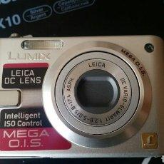 Cámara de fotos: CÁMARA DIGITAL PANASONIC LUMIX DMC-FX10 OBJETIVO LEICA. Lote 140192209