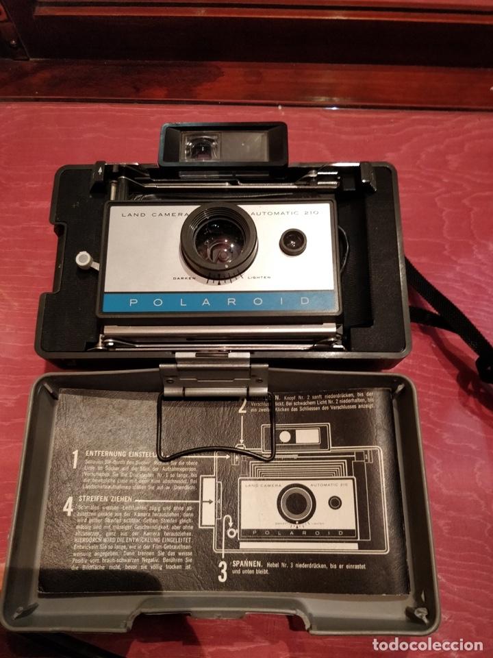 Cámara de fotos: Cámara Polaroid 210 con Flashgun 268. - Foto 2 - 96828695