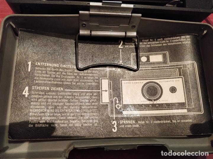 Cámara de fotos: Cámara Polaroid 210 con Flashgun 268. - Foto 3 - 96828695