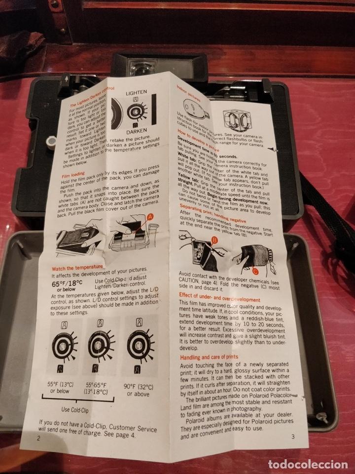 Cámara de fotos: Cámara Polaroid 210 con Flashgun 268. - Foto 4 - 96828695