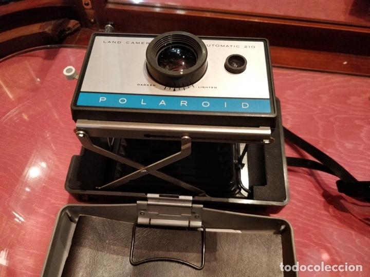 Cámara de fotos: Cámara Polaroid 210 con Flashgun 268. - Foto 8 - 96828695