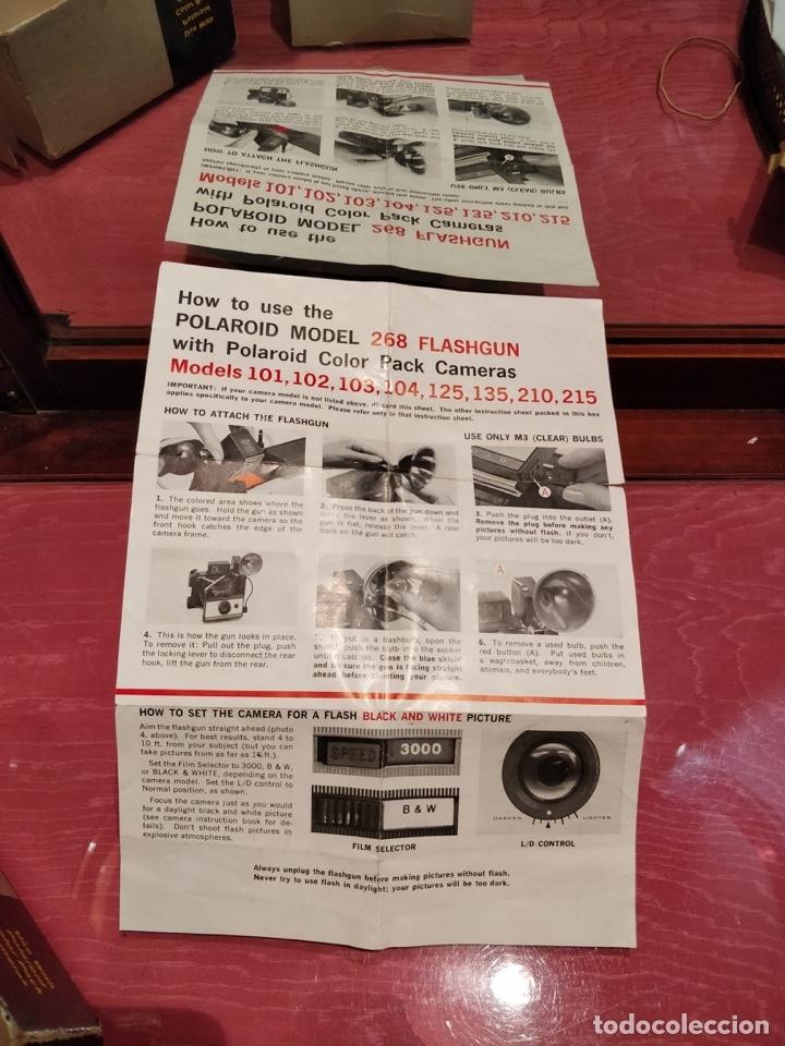 Cámara de fotos: Cámara Polaroid 210 con Flashgun 268. - Foto 29 - 96828695