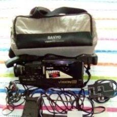 Cámara de fotos: CAMARA VIDEO SANYO VISION 8-AÑO 1989. Lote 140780734