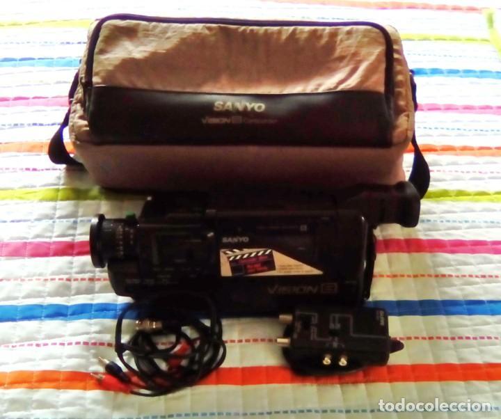 Cámara de fotos: CAMARA VIDEO SANYO VISION 8-AÑO 1989 - Foto 8 - 140780734