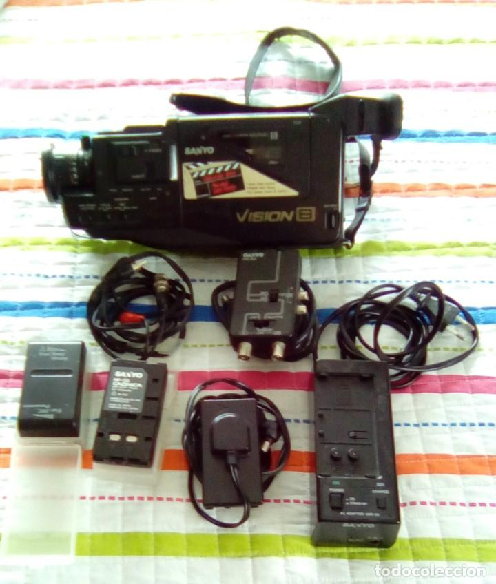 Cámara de fotos: CAMARA VIDEO SANYO VISION 8-AÑO 1989 - Foto 11 - 140780734