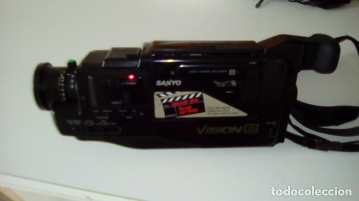 Cámara de fotos: CAMARA VIDEO SANYO VISION 8-AÑO 1989 - Foto 14 - 140780734
