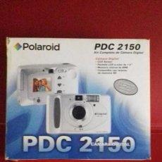 Cámara de fotos: POLAROID PDC 2150 KIT COMPLETO DE CÁMARA DIGITAL. SIN USO.. Lote 140989910