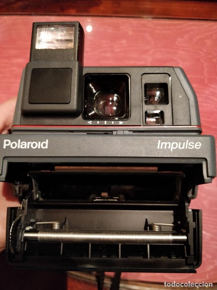 Cámara de fotos: Cámara de fotos vintage Polaroid Impulse. Sin probar - Foto 7 - 57323036