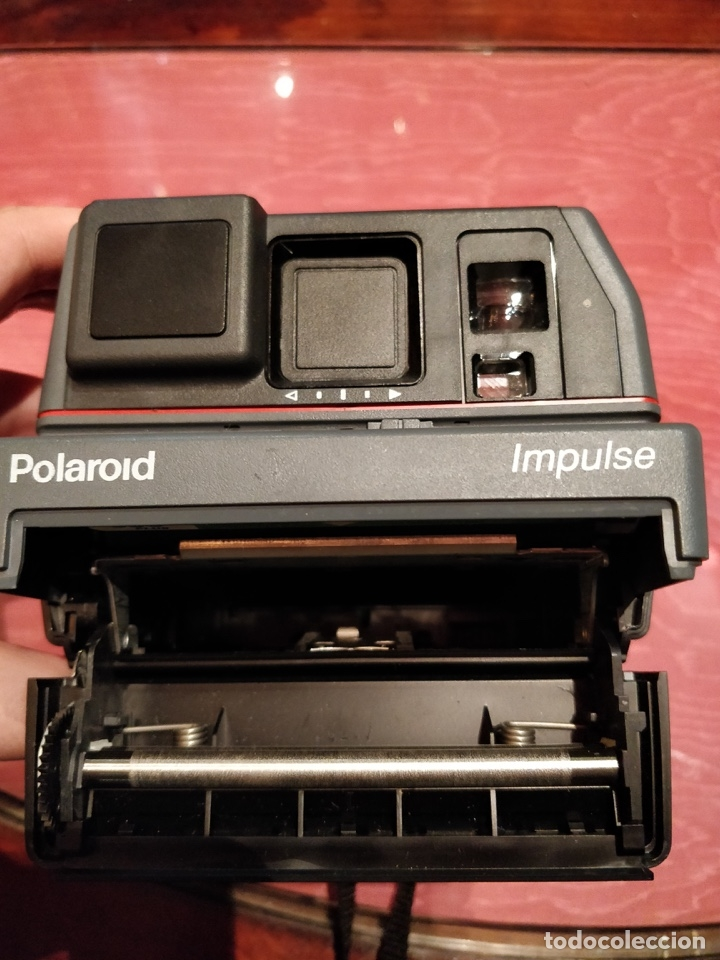 Cámara de fotos: Cámara de fotos vintage Polaroid Impulse. Sin probar - Foto 8 - 57323036