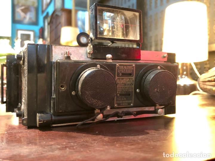 Cámara de fotos: cámara estereoscópica UNIS-BROUTIN MONOBLOC brevete - Foto 3 - 141330414
