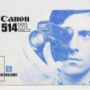 Cámara de fotos: MANUAL DE INSTRUCCIONES PARA CÁMARA / VIDEO - CANON 514XL - ESPAÑOL. Lote 141759589