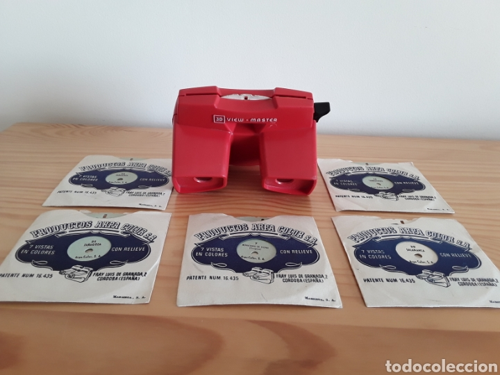 Cámara de fotos: Visor Estereoscópico View Master 3D y 6 discos Barcelona, Tarragona... - Foto 3 - 142483696