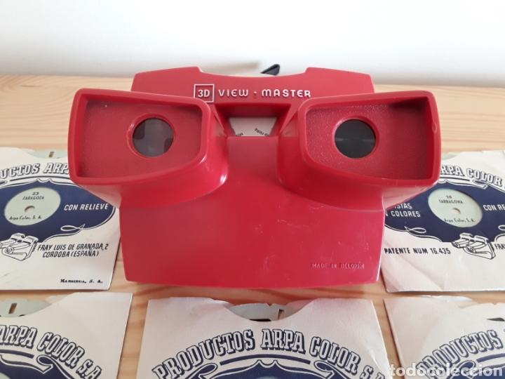 Cámara de fotos: Visor Estereoscópico View Master 3D y 6 discos Barcelona, Tarragona... - Foto 6 - 142483696