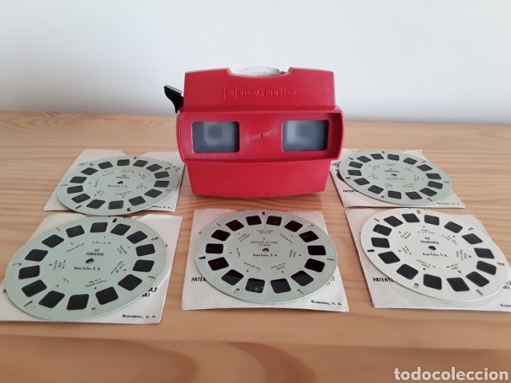 Cámara de fotos: Visor Estereoscópico View Master 3D y 6 discos Barcelona, Tarragona... - Foto 7 - 142483696