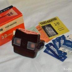 Cámara de fotos: VINTAGE - VIEW MASTER - 3 DIMENSION VIEWER MODEL E - CON CAJA Y PAPELES - PERFECTO - COMO NUEVO. Lote 142776062