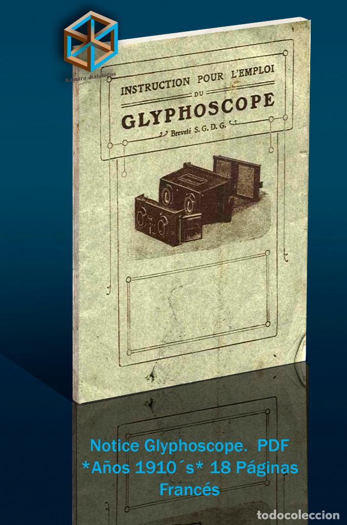 Cámara de fotos: Jules Richard 7 Catálogos PDF. Verascope, Taxiphote, Glyphoscope, etc. DVD - Foto 2 - 142824814