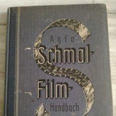 Cámara de fotos: MANUAL AGFA-SCHAMALFILM HANDBUCH (1935). Lote 143320554
