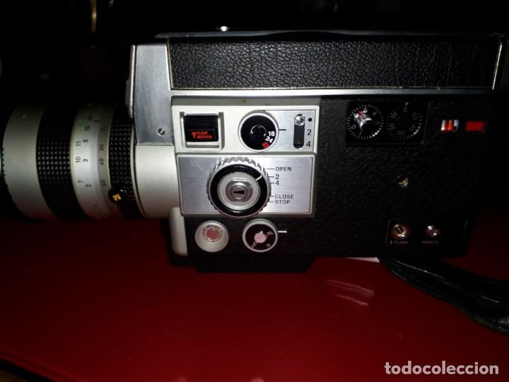 CAMARA DE FILMACION CANON AUTO ZOOM 814 (Cámaras Fotográficas - Visores Estereoscópicos)