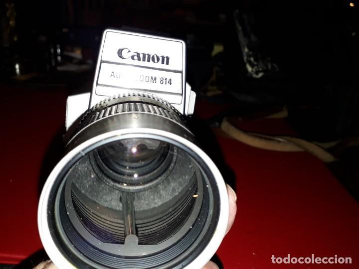 Cámara de fotos: CAMARA DE FILMACION CANON AUTO ZOOM 814 - Foto 4 - 143661806