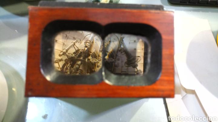 Cámara de fotos: Estereoscopio madera con seis imágenes - Foto 4 - 144239708